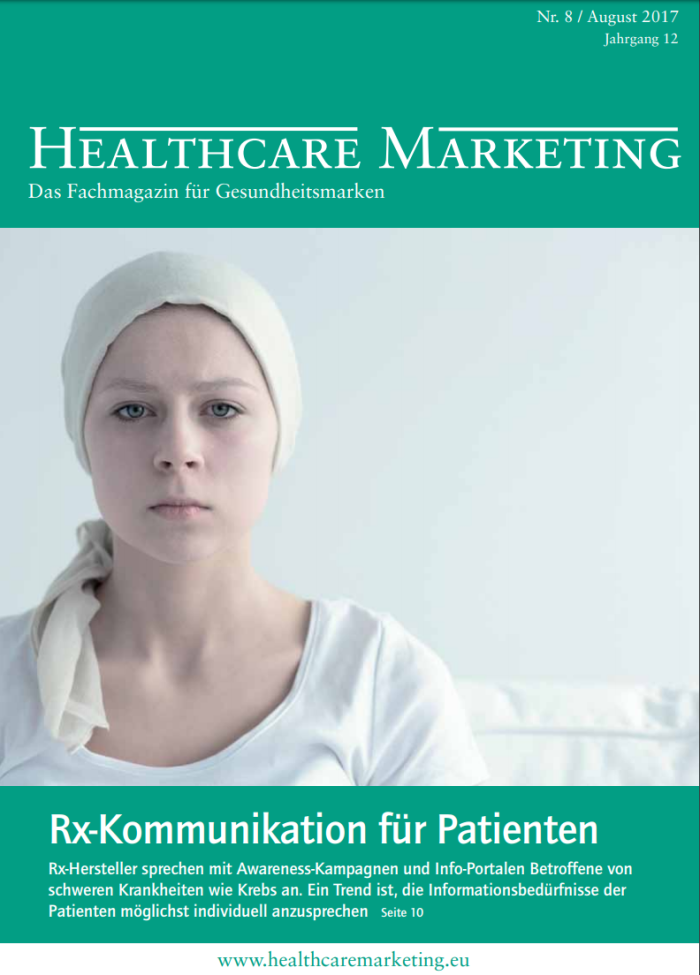 Healthcare Marketing Aug2017